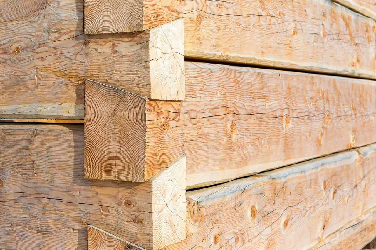 Hand Hewn (Broad Axed) Dovetail