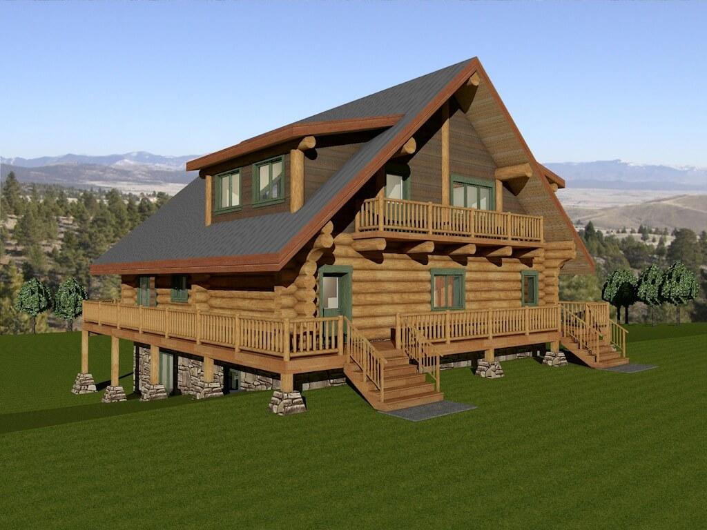 Stonehouse Woodworks Log House Plans Golden British