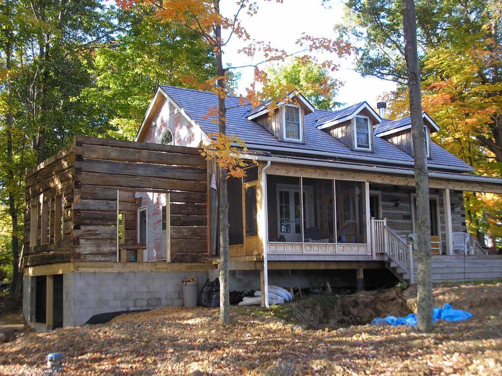 Heritage Log Home