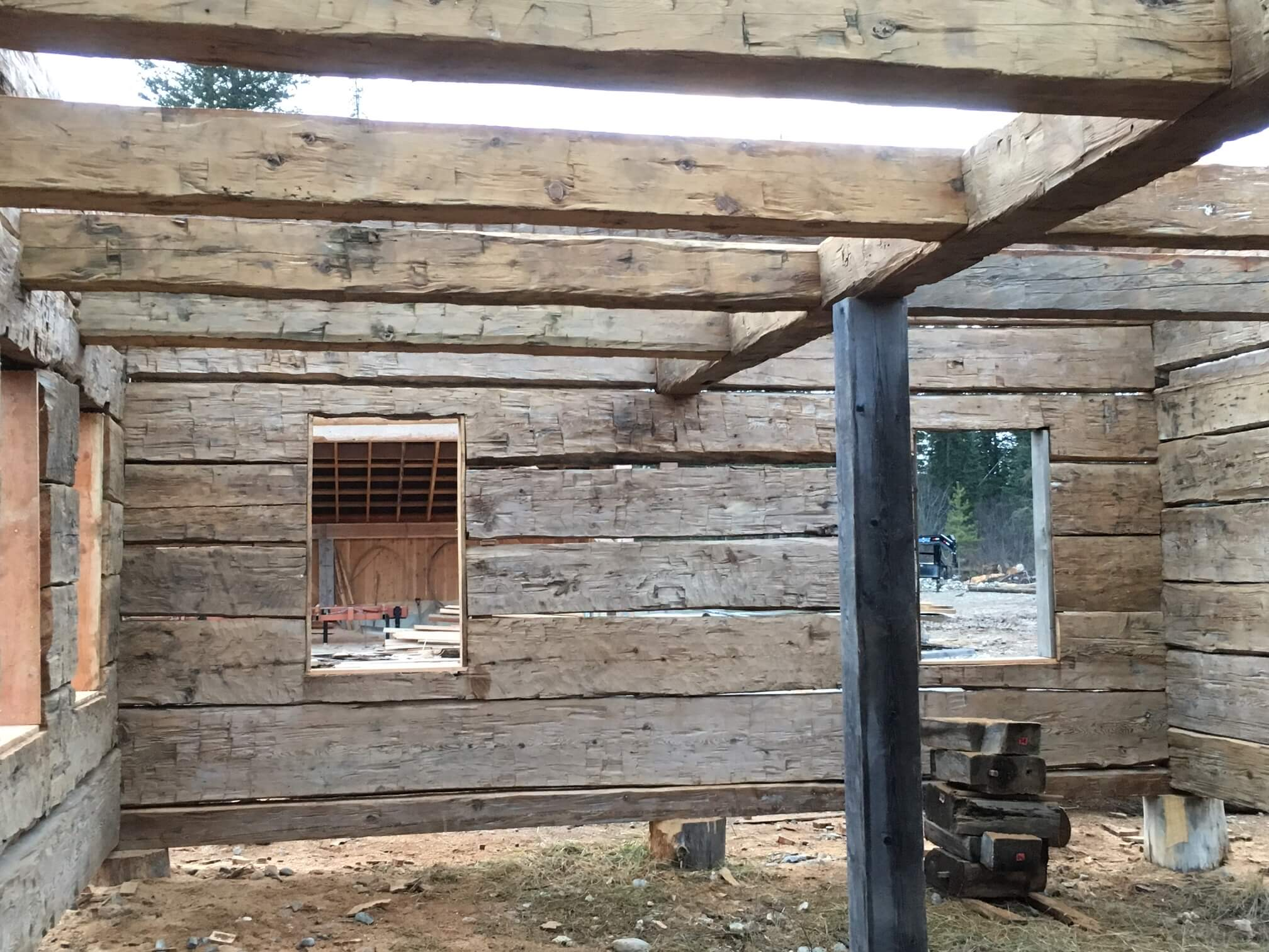 For Sale Hand Hewn Heritage Log Shell This Building