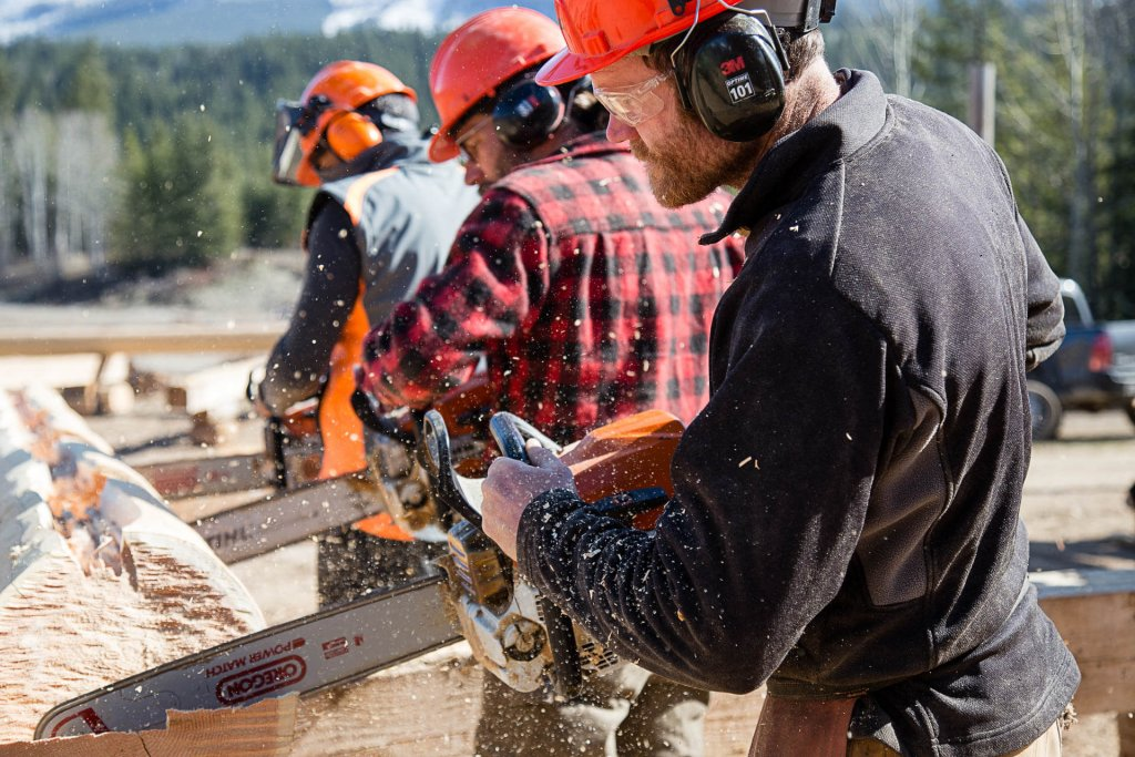 British Columbia School Of Log Building | Log Building